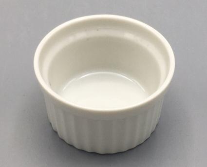 白磁7cmスフレ(平底) サムネイル2