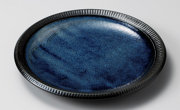 深海大皿 プレート(色のバラツキあります)