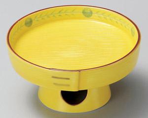 三方型高台刺身鉢