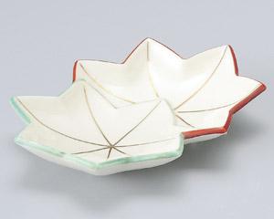 錦紅葉刺身鉢