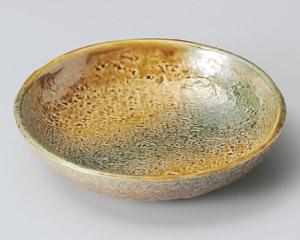黄瀬戸織部刺身鉢