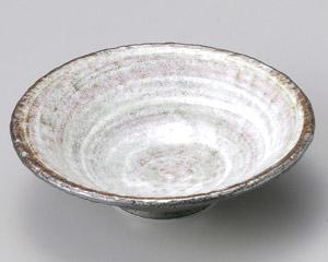 粉引5.5平鉢