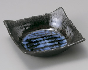 深海四ツ足角刺身鉢