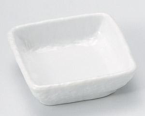白釉正角小付