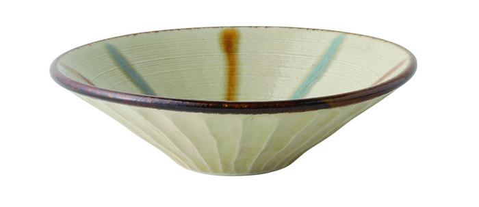 琉球イッチンしのぎ浅鉢 小