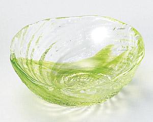 荒波(グリーン)豆珍味(ガラス)