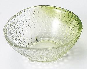 硝子ミニ小鉢片口(緑)