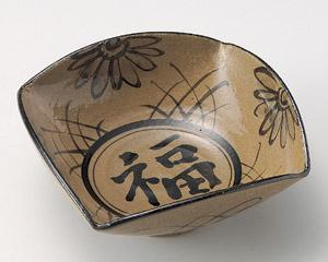 絵唐津福紋6.5鉢