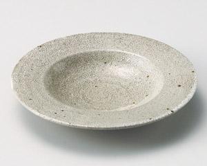 錆梅花皮6寸浅鉢
