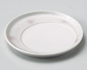 ピンクボカシラスタースライド皿