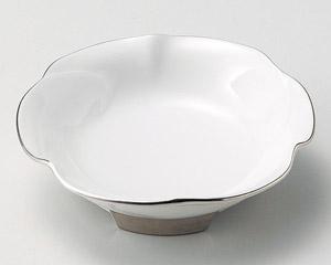 プラチナ花形多菜鉢