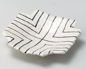 四方入筋紋6.0皿
