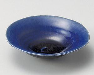 紺勾玉平鉢