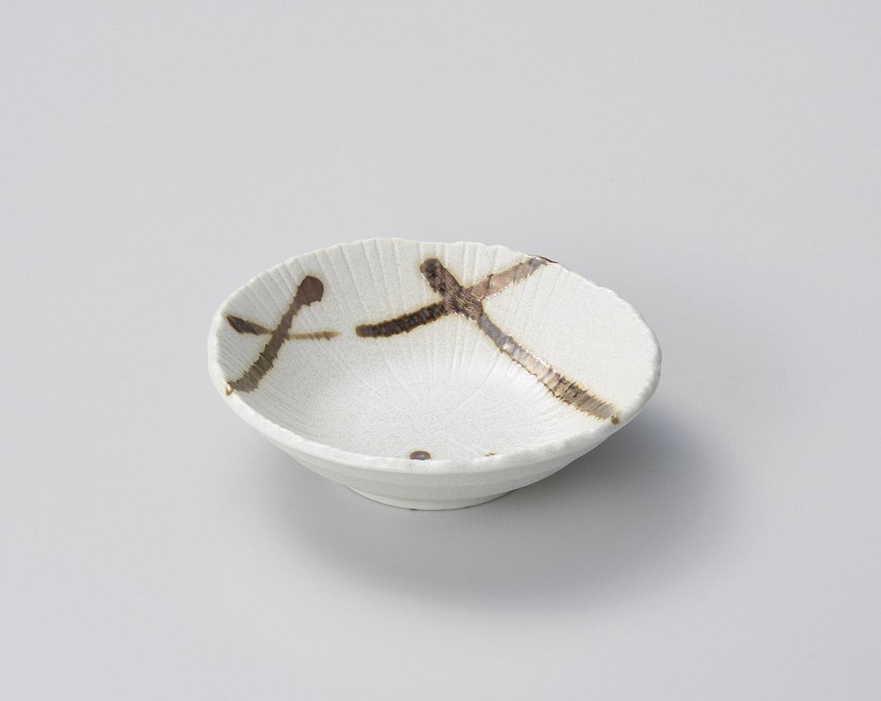 染金色野4.5取鉢