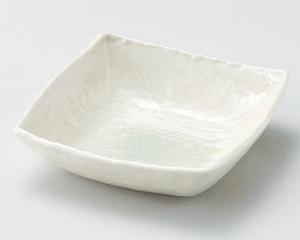 グリーン吹四角小鉢