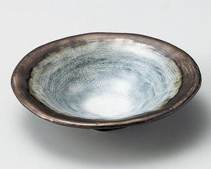 窯変金彩5.5浅鉢