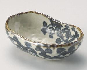 タコ唐草くつ型中鉢