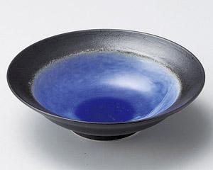 深海ブルー平鉢