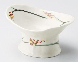 錦芦絵高台小鉢