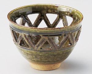 オリベ透し小鉢