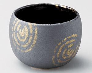 いぶし金彩丸鉢