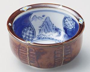 菱紋山水3.6小鉢