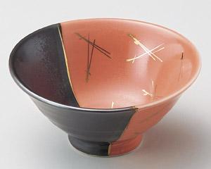 塗分金松葉反小鉢