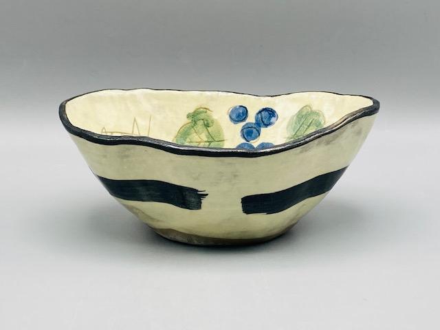 葡萄ゆらぎ変形鉢(在庫33限り) 画像