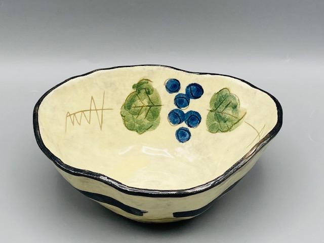 葡萄ゆらぎ変形鉢(在庫33限り) サムネイル2