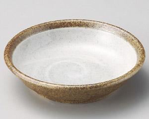 白渦4寸平鉢