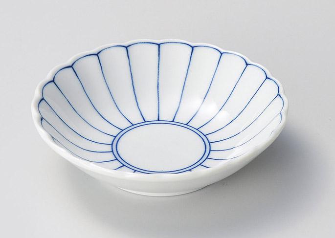 菊花紋4.0浅鉢