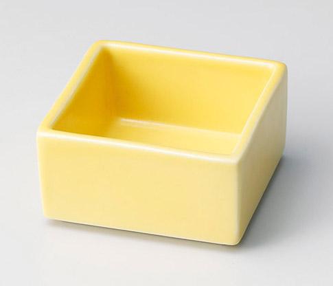 黄スタック四角小付
