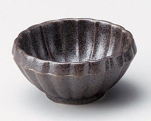 鉄砂 菊小鉢