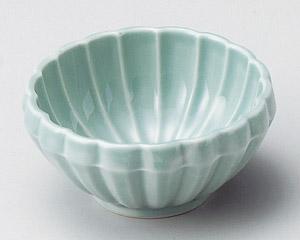 菊型ヒスイ珍味鉢