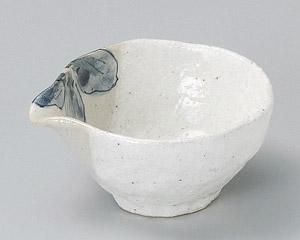 雪化粧木葉3.0片口鉢