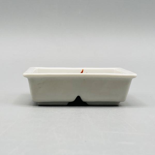 赤絵花紋仕切鉢(在庫27個限り) サムネイル3