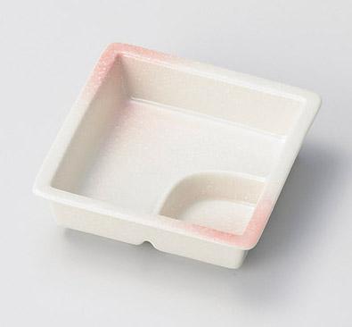 ピンク吹仕切鉢