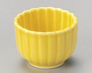 黄釉菊型珍味