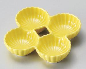 黄菊型四品鉢