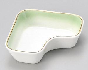 ヒワ吹渕金L型鉢のみ