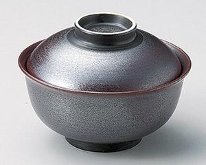 鉄砂反型円菓子碗(大)