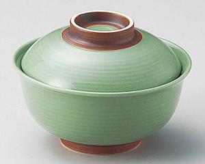 ヒスイ錆巻反 円菓子碗(小)