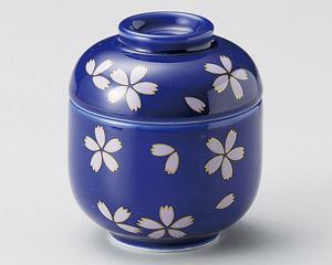 藍染桜ふぶきミニむし碗