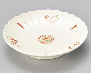 赤絵みのり菊型天皿 画像1