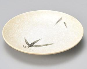 石焼織部笹丸7.0皿 画像