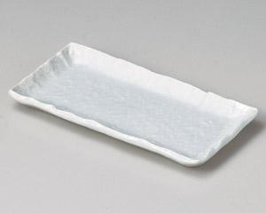 青白釉突出皿