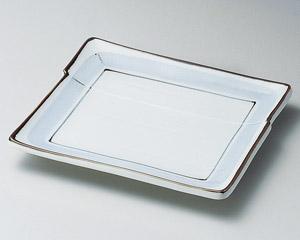 淡彩ライン9.0長角皿