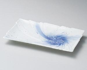 星雲うず型焼物皿