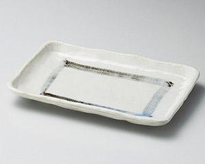 おふけ長角焼物皿