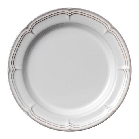 ラフィネ スモークホワイト 21.5cmリムプレート 画像1